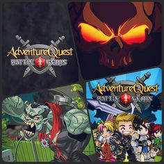 Adventure Quest Battle Gems