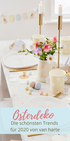 Hoppy Easter – Die schönsten Oster-Trends 2020 | van harte Blog - Osterdekoration Osterdeko Ideen einfach DIY gold zuhause fenster tischdekoration ostern österlich Oster-Deko Oster-Dekoration modern süß Kinder Muffins Ostern Backen Rezepte Foods With Calcium, Fruit Shakes, Big Salad, White Potatoes, Good Foods For Diabetics, Hoppy Easter, Eating Plans, Fruits And Veggies, Diy For Kids