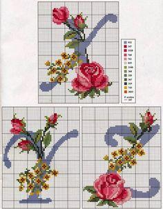 iniciales-con-rosas-9.jpg (893×1150)