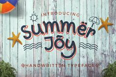 Summer Joy by Heroglyphs on @creativemarket