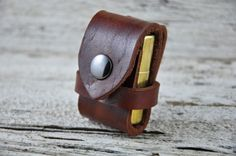 Zippo Lighter Leather Belt Case by Northernleather on Etsy