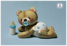 CHRISTENING TEDDY BEAR BABY