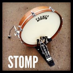 The Farmer StompDrum is the smallest, best sounding bass drum available and features an innovative design and is built with fine craftsmanship from high quality materials. These ultra-portable drums hold their own no matter where you play, from the small venues to outside or in your own home.