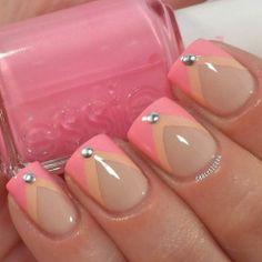 #cute #nail polish #pink