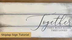 Make Your Own Shiplap Sign | Rustic Orchard Home Wood Signs Home Decor, Diy Wood Signs, Home Signs, Welcome Signs Front Door, Wooden Welcome Signs, Barn Board Signs, Crafts To Make And Sell, How To Make, Diy Wood Projects