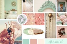 Minted Rose by Alyson McKay - Skillshare Learn Photoshop, Mood Boards, Pastel, Rose, Projects, Color, Vintage, Design, Log Projects