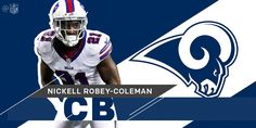Slot corner Nickell Robey-Coleman listed as PFF's 2nd best slot corner signs with LA Rams  https://twitter.com/nfl/status/850702297395073024 Submitted April 08 2017 at 01:53PM by ctlynchyo via reddit http://ift.tt/2nWevpl