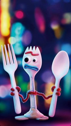 Forky thinks he's trash Wallpapers En Hd, Cute Cartoon Wallpapers, Disney Phone Wallpaper, Wallpaper Iphone Cute, Disney Art, Disney Pixar, Fête Toy Story, Illustration Mignonne, Disney Background