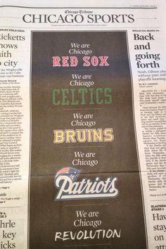 CLASS ACT: Why Boston Should LOVE Chicago EVEN MORE (PHOTO) http://boston.sportsthenandnow.com/2013/04/16/class-act-why-boston-should-love-chicago-even-more-photo/ #prayforboston