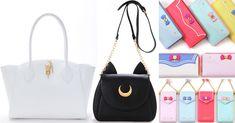 Isetan will be selling a Sailor Moon x Samantha Vega fashion collaboration featuring a Luna handbag, a Moon Stick handbag and some cute wallets!