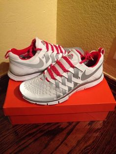 """05a25839dcf4 """"Check out these sweet Ohio State tennis shoes!"""