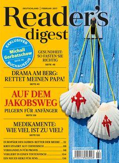 Auf dem Jakobsweg - Reader's Digest Februar 2017