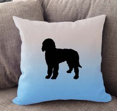 """Our super soft Ombre pillow is 16"""""""" x16"""""""" in size with zipper cover. Colors fade from white to your choice of coral, blue or purple. Printed on both sides. Made in USA. Spot clean."""