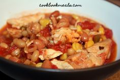 Slow Cooker Southwestern Chicken with Corn & Beans