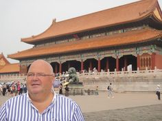 Michel SALAUN en voyage en Chine