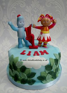 In the night garden cake - By Helen The Cake Lady