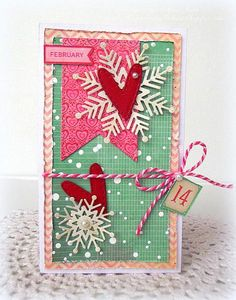 Hearts and Snowflakes by Melissa Bove.  Simon Says Stamp Alexis and Abby Snowflake Dies and the Bundle of Stitched Shapes Die Set.   www.keepsakesbymelissa.blogspot.com