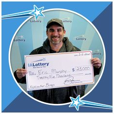 Winner News 2020 Five Thousand, Lottery Results, Holiday Games, Cedar Rapids, Winning The Lottery, I Win, Special Needs, Bingo, Have Time
