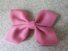 Make a butterfly hair bow