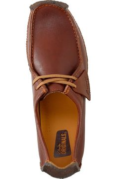 Clarks® Originals 'Natalie' Moc Toe Derby (Men)   Nordstrom Clarks Originals, The Originals, Men's Clarks, Sexy Outfits, Moccasins, Derby, Shoe Boots, Nordstrom, Loafers
