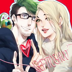 ozumiiwizard: bless therealjacksepticeye: If only we could be this animu in real life :P