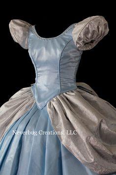 Cinderella Classic Custom Costume by NeverbugCreations on Etsy