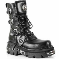 New Rock M373-S4 Metallic Boots