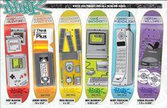 Think Skateboard graphics Skateboarding