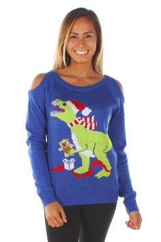 Women's T-Rex Sweater
