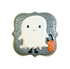 Fancy Square Cookie Cutter 2.75 Scary Halloween Treats, Halloween Cookies Decorated, Halloween Baking, Haunted Halloween, Halloween Cakes, Decorated Cookies, Halloween Themes, Fall Halloween, Ghost Cookies
