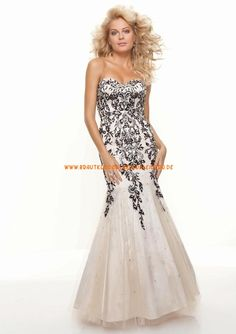 2013 sexy Abendkleider aus Organza im Meerjungfrauenstil