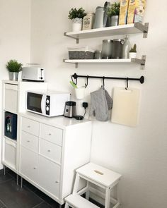 Have you ever dreamt of installing a bespoke storage system into your home? Granny Flat Plans, Ikea Kallax Hack, Ikea Interior, Small Outdoor Spaces, Kitchen Cabinetry, Apartment Kitchen, Küchen Design, Kitchen Storage, Room Inspiration