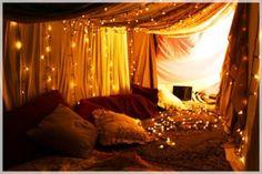 Romantic Bedrooms Ideas- lighting