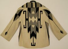 the perfect chimayo blanket coat