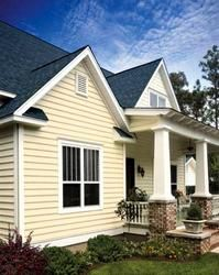 Carolina Beaded Single 6 1 2 X 12 4 Natural Clay Vinyl Siding Vinyl Siding Cottage Exterior House Exterior