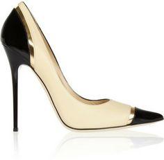 Jimmy Choo Limit tri-tone leather pumps on shopstyle.com #shoes # heels #beautiful