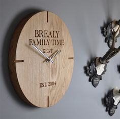 The Oak and Rope Company. Clock