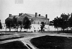 Old Capitol Prison during the Civil War