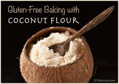 Gluten free baking is all the rage these days and baking with coconut flour yields gluten free baked goods. We discuss that and give a coconut flour bread recipe!