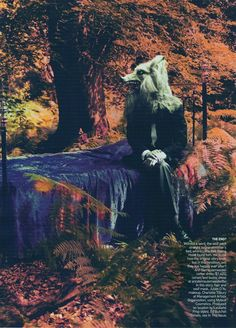Wolf editorial 1  Vogue US September 2009