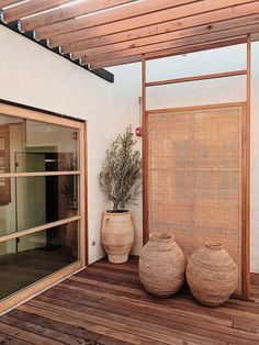 L.A. FOOD SCENE Élephante Beach Restaurant Design, Rooftop Restaurant, Santa Monica, Potted Olive Tree, Wood Sticks, Terrazzo Flooring, Green Architecture, Balcony Design, Organic Modern