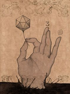 Magic hand, Sacred Geometry <3