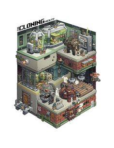 The Cloning Facility by Stéphane Boutin