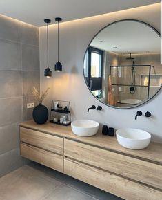 Beautiful Bathroom Designs, House Design, Bathroom Interior, Bathroom Decor, Bathroom Goals, Beautiful Bathrooms, Bathroom Design Luxury, Bathroom Interior Design, House Interior