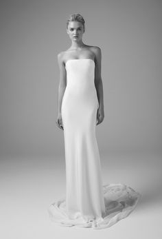 Sculpted Silk for Minimalists at Heart / Unbridaled by Dan Jones