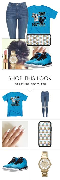 """Cam Dabb"" by fashionismypashion476589 ❤ liked on Polyvore featuring Topshop, Forever 21, NIKE, Yves Saint Laurent and Michael Kors"