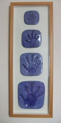The creativepixie family's handprints The creativepixie family's handprints The post The creativepixie family's handprints appeared first on Salzteig Rezepte. Family Crafts, Baby Crafts, Diy And Crafts, Crafts For Kids, Arts And Crafts, Homemade Gifts, Diy Gifts, Projects For Kids, Craft Projects