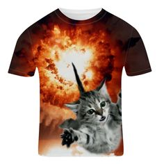 1f5edea2 Mens Funny Graphic T Shirt Exploding Kitten Printed Shirt – Festival  Clothing Top Rave Wear – Summer Beach Tee Shirt Mens Funny Clothing