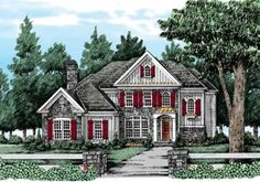 Sibley - Home Plans and House Plans by Frank Betz Associates