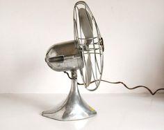 Vintage Fan Art Deco Zephyr Airkooler Chrome and by CalloohCallay